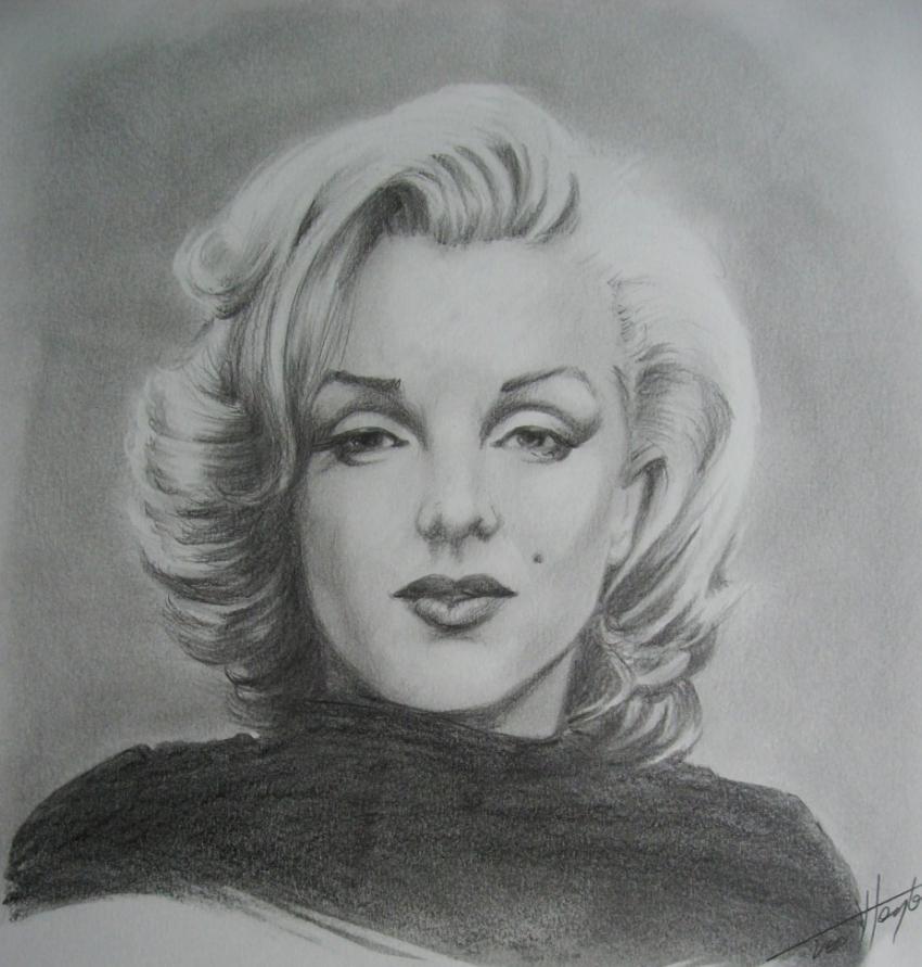Marilyn Monroe por Tom-Heyburn